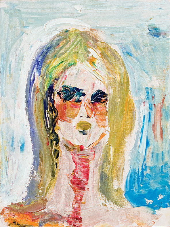 The Holding Image. 2010  Oil on canvas, cardboard. 40 х 30