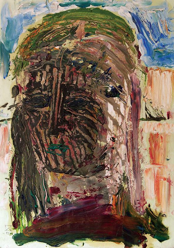 Venetian Portrait (15). 2009. Oil on cardboard. 29.5 х 21