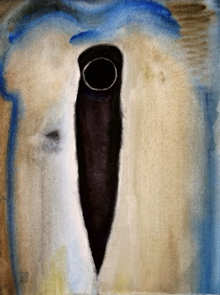 Bottom. Communal Flat. 1995. Watercolor. on paper. 47.5 х 35.5