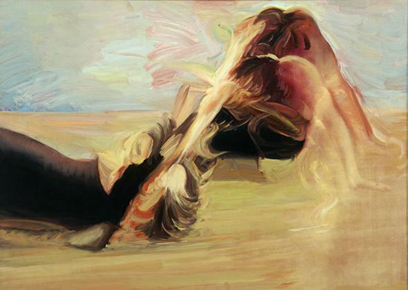 Cloud 10. 2002. Oil on canvas. 65 x 90