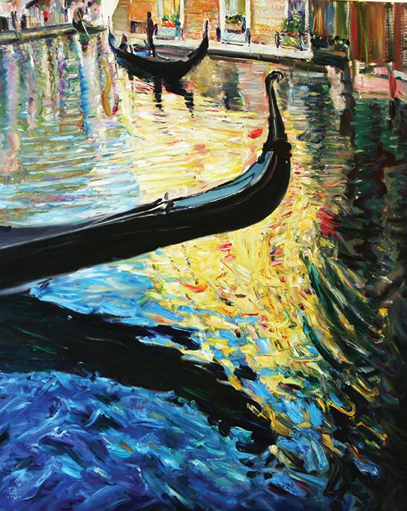 Light of Venice. 2010. Oil on canvas. 100 х 80