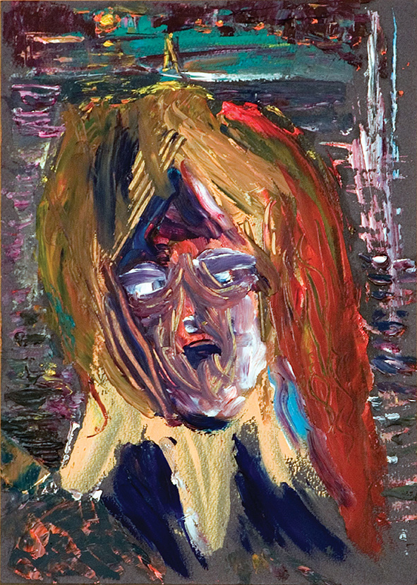 Venetian Doge. 2010. Oil on cardboard. 29.5 x 21