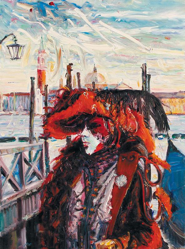 The Captain. 2010. Oil on canvas. 80 x 60