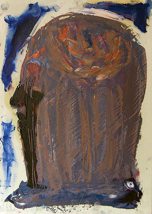Venetian Portrait (8). 2009. Oil on cardboard. 29.5 х 21