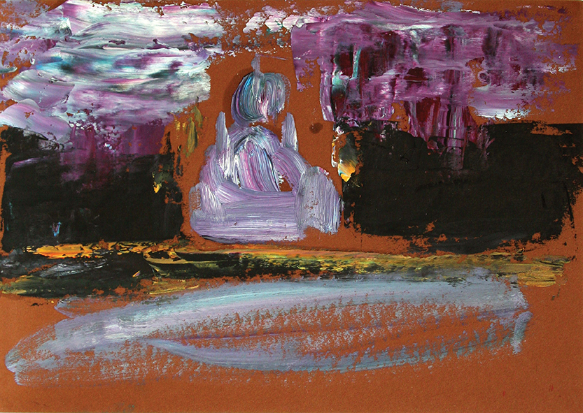 The Cathedral of Christ the Savior. Venice. 2010. Oil on cardboard. 21 х 29.5