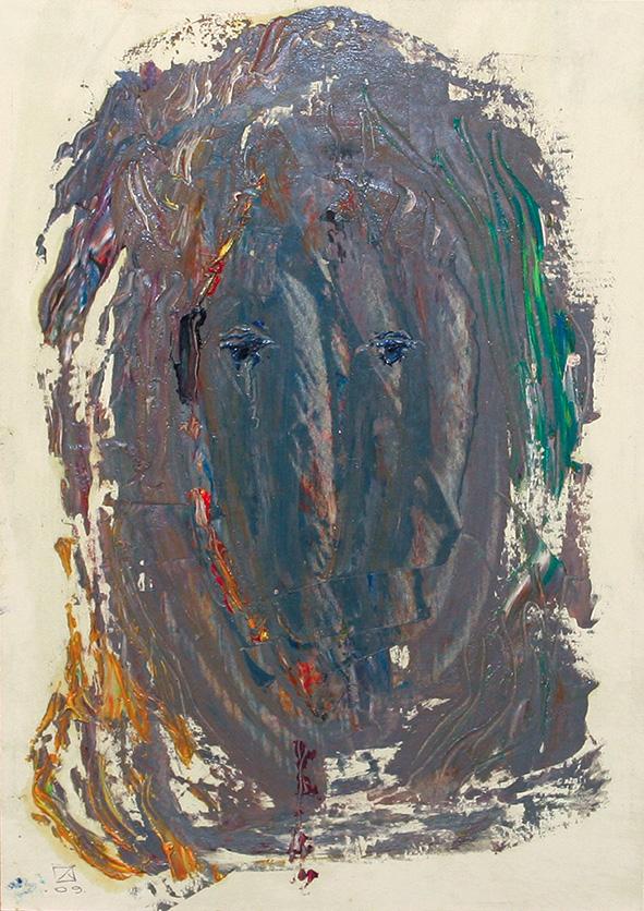 Venetian Portrait (13). 2009. Oil on cardboard. 30 х 21