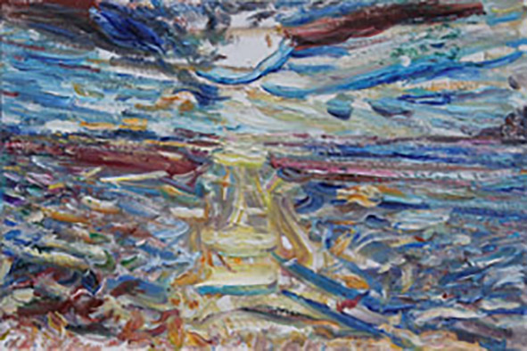 Port Duino. 2011. Oil on canvas. 40 x 60