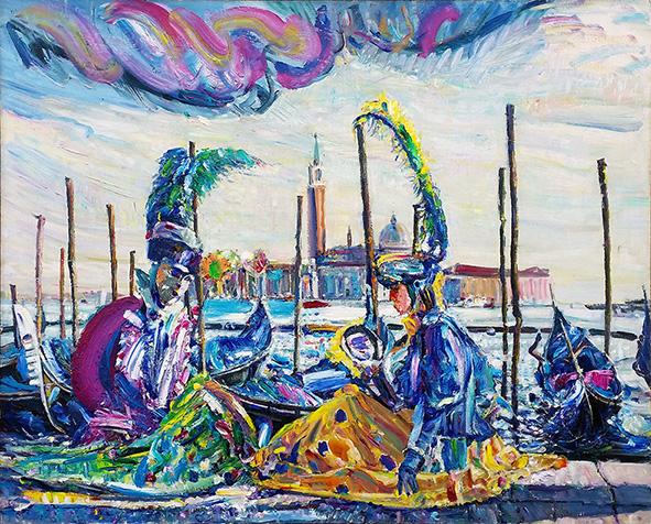 Sweet Couple. 2010. Oil on canvas. 90 х 110