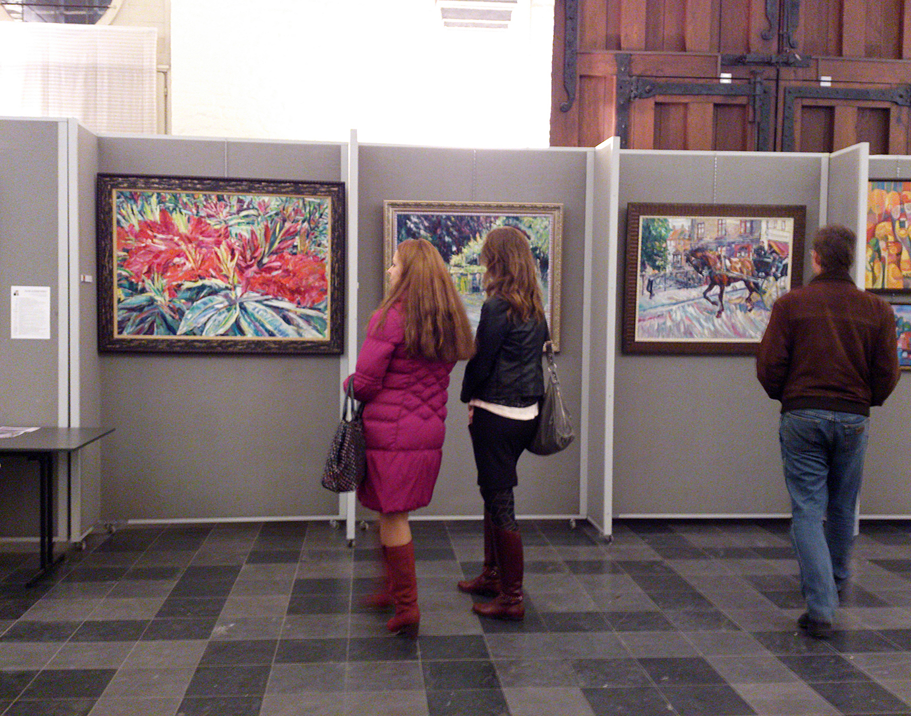 International Art Festival Art Coctail Brugge, Jan Garemijnzaal. Belgium, 13-23.11.2013