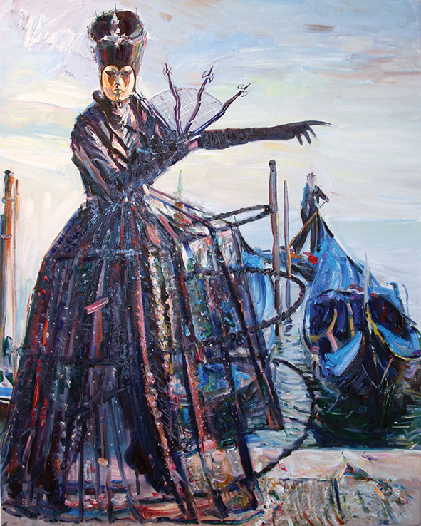 Ninth Year. 2010. Oil on canvas. 100 x 80