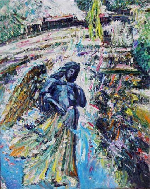 Miramare. Ghost. 2011. Oil on canvas. 100 х 80