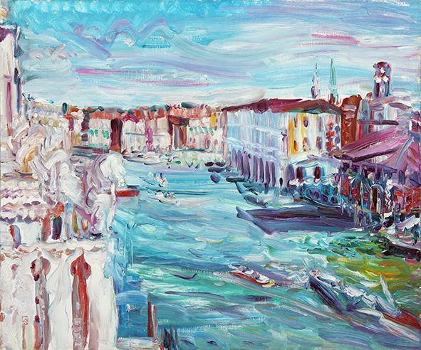 In the Sunshine. 2012. Oil on canvas. 80 х 100