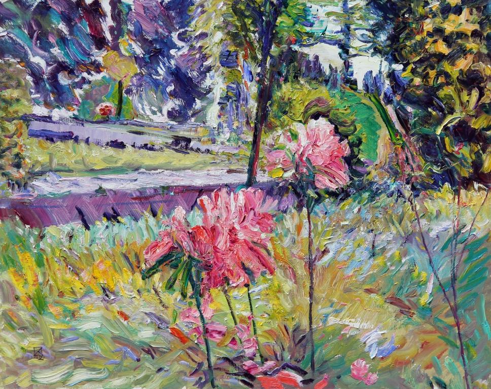 Pink Moan. 2012. Oil on canvas. 80 х 100