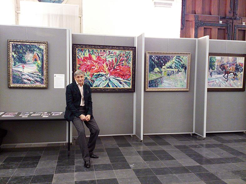 Art Coctail Brugge, Jan Garemijnzaal. Belgium 13-23.11.2013