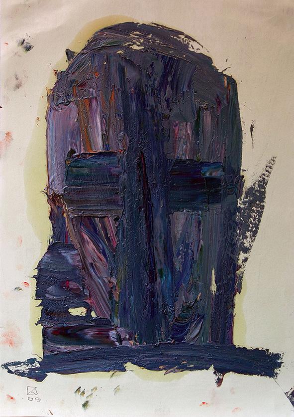 Venetian Portrait (4). 2009. Oil on cardboard. 29.5 х 21