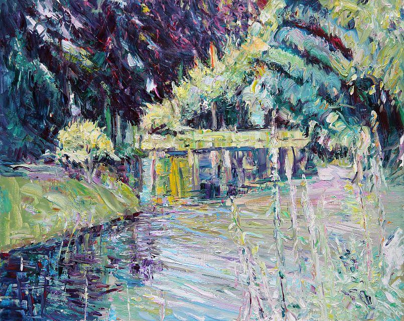 Shore. Dream. 2012. Oil on canvas. 80 х 100