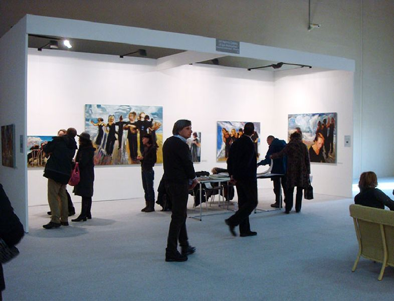 Bergamo Arte Fiera vernissage 09.01.2009