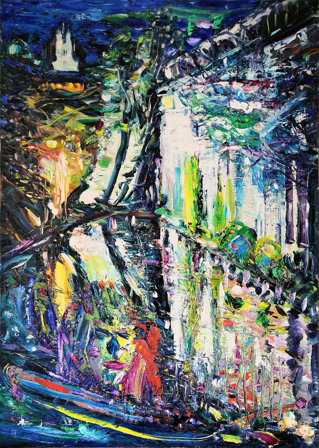 Clown. 2013. Oil on canvas. 100 х 70