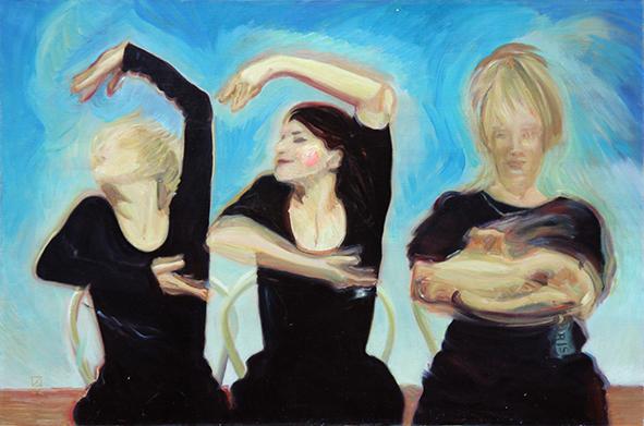 Cloud 3. 2002. Oil on canvas. 60 x 90