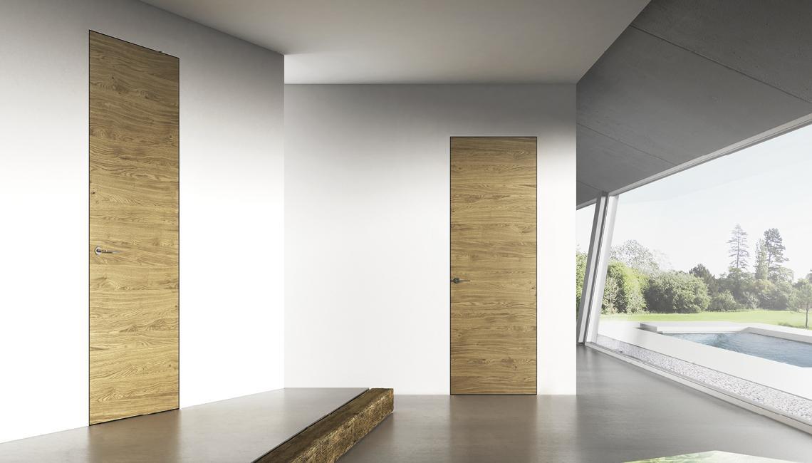 Porte invisibili filo muro nuzzolo porte finestre caserta - Porte interne caserta ...