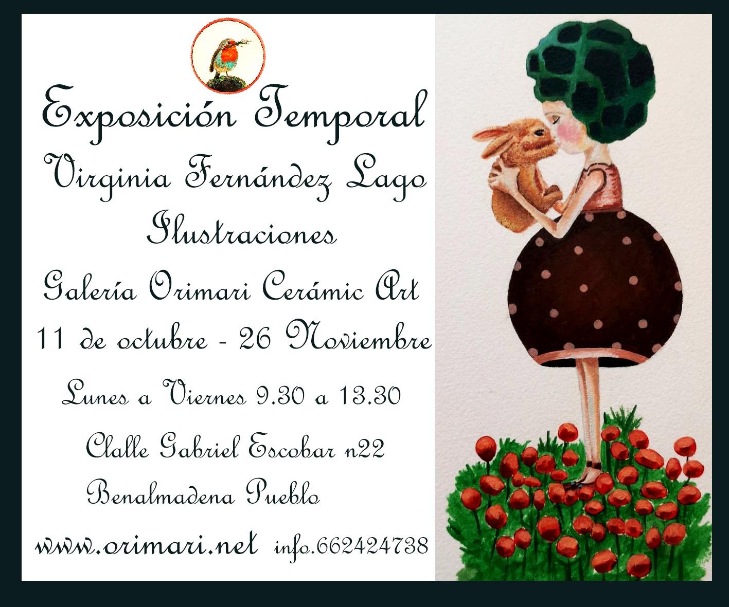 Exposición Virginia Fernandez  Lago