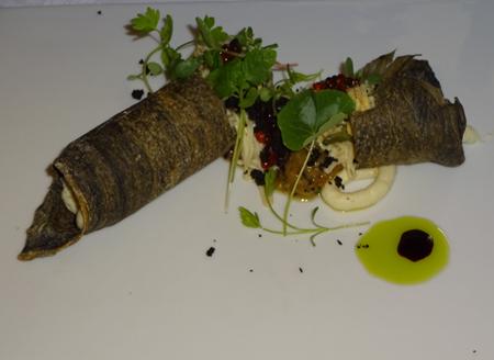 茄子と木の皮