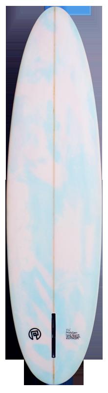 Unterseite Perlibu Surfbrett