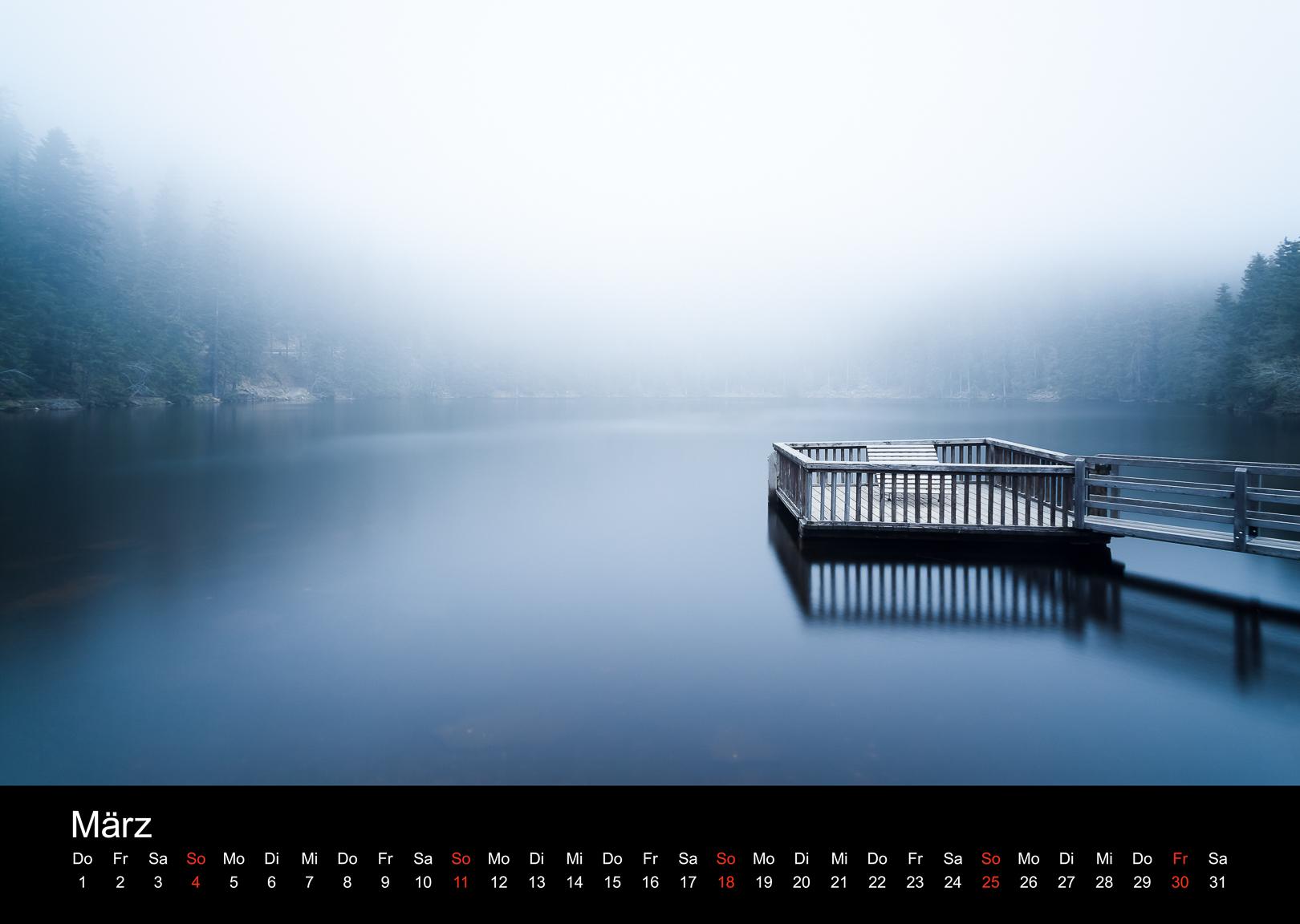 Schwarzwald-Kalender 2018 März