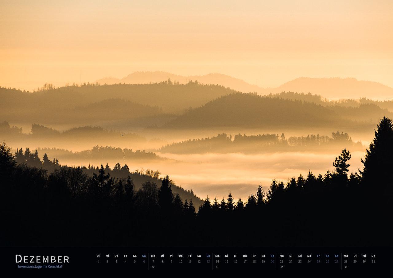 Schwarzwald-Kalender 2020 Dezember