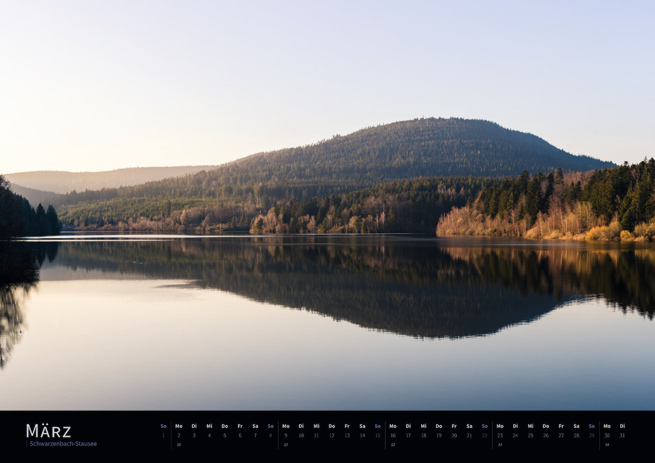 Schwarzwald-Kalender 2020 März