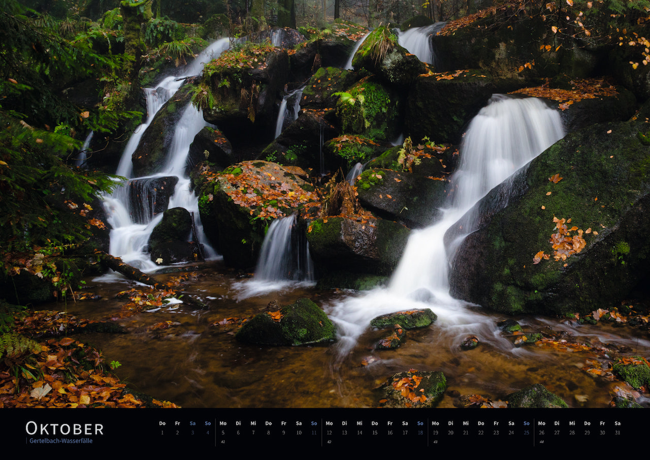Schwarzwald-Kalender 2020 Oktober