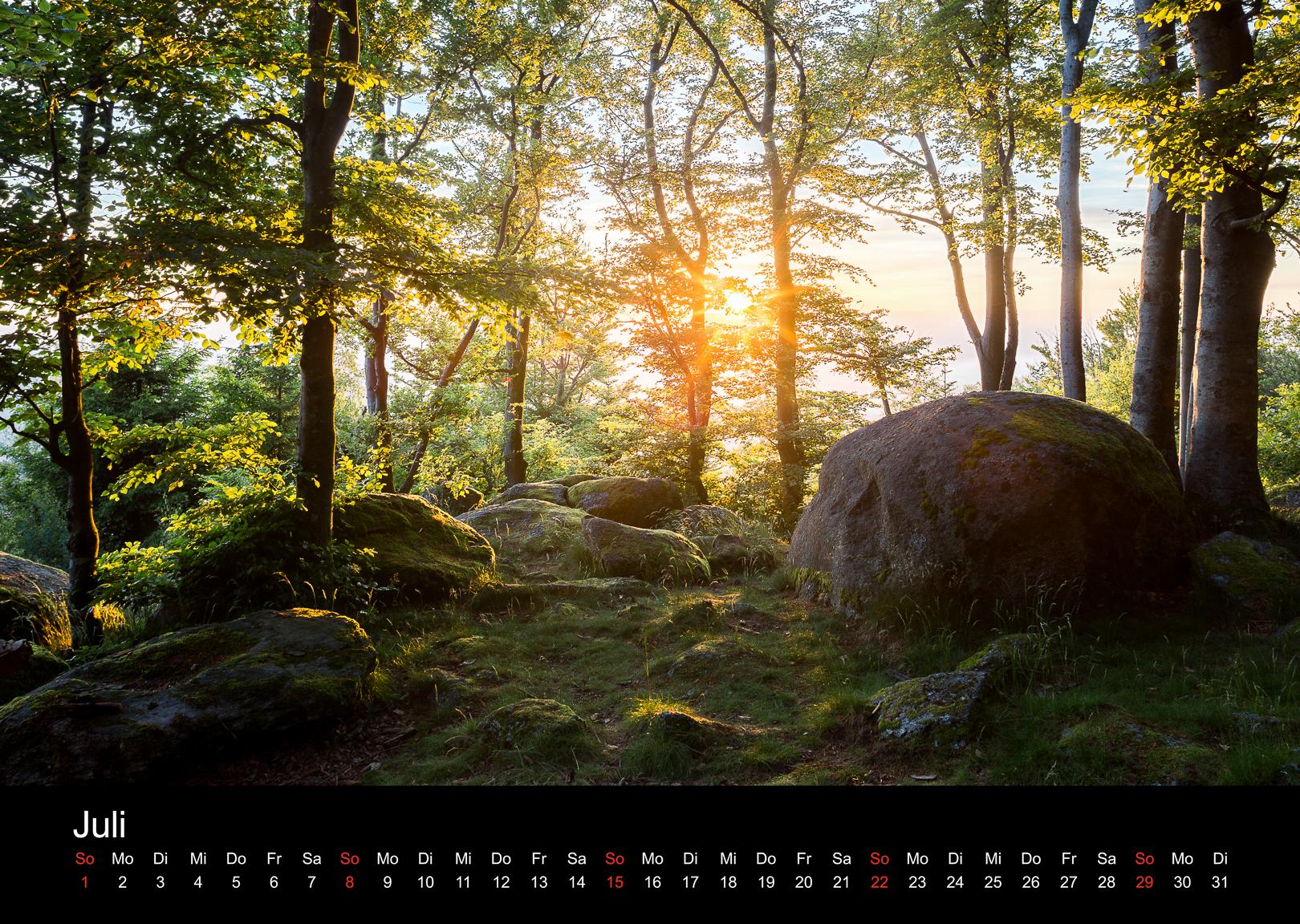 Schwarzwald-Kalender 2018 Juli