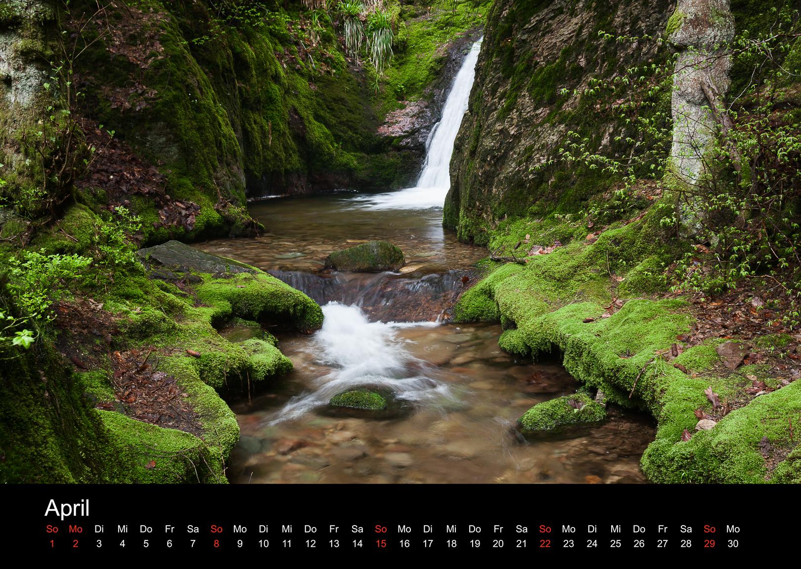 Schwarzwald-Kalender 2018 April