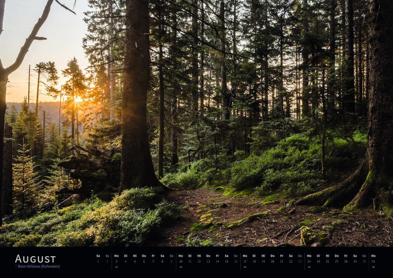 Schwarzwald-Kalender 2020 August