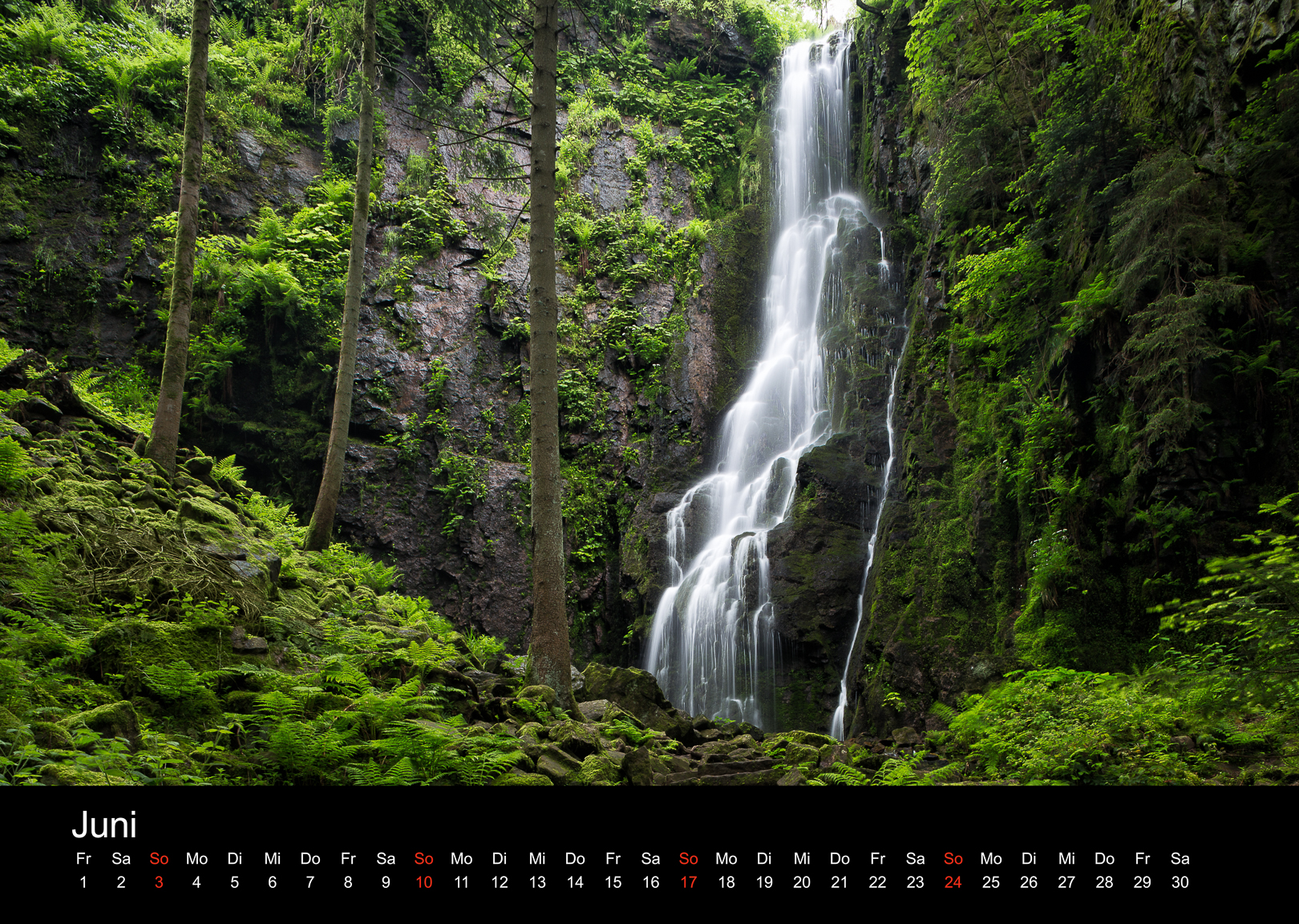 Schwarzwald-Kalender 2018 Juni