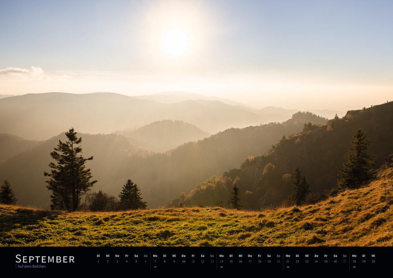 Schwarzwald-Kalender 2020 September