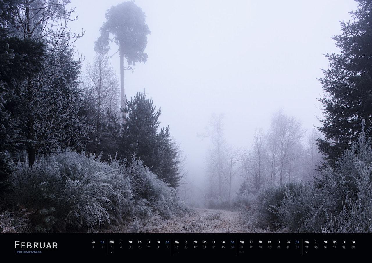 Schwarzwald-Kalender 2020 Februar