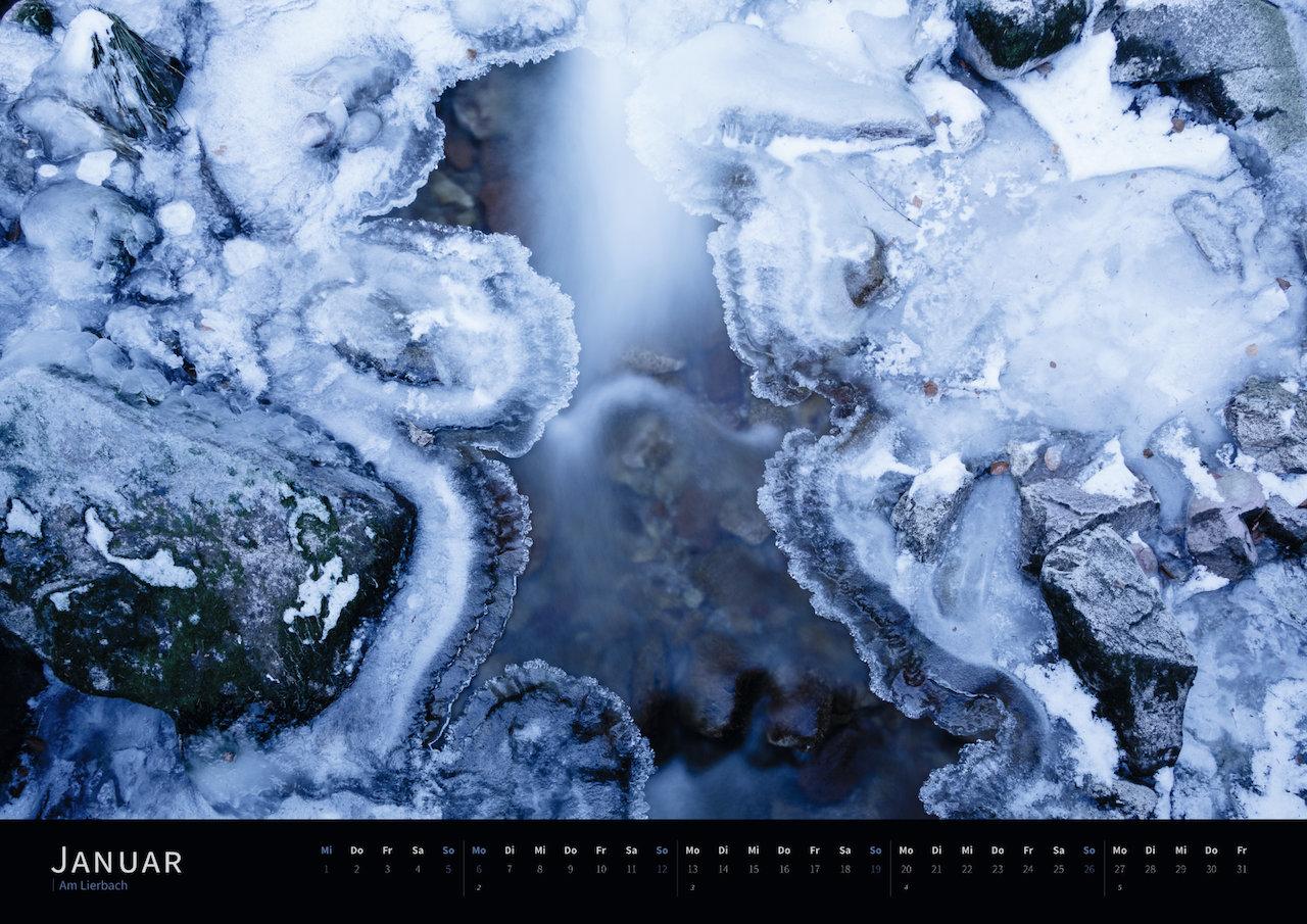 Schwarzwald-Kalender 2020 Januar