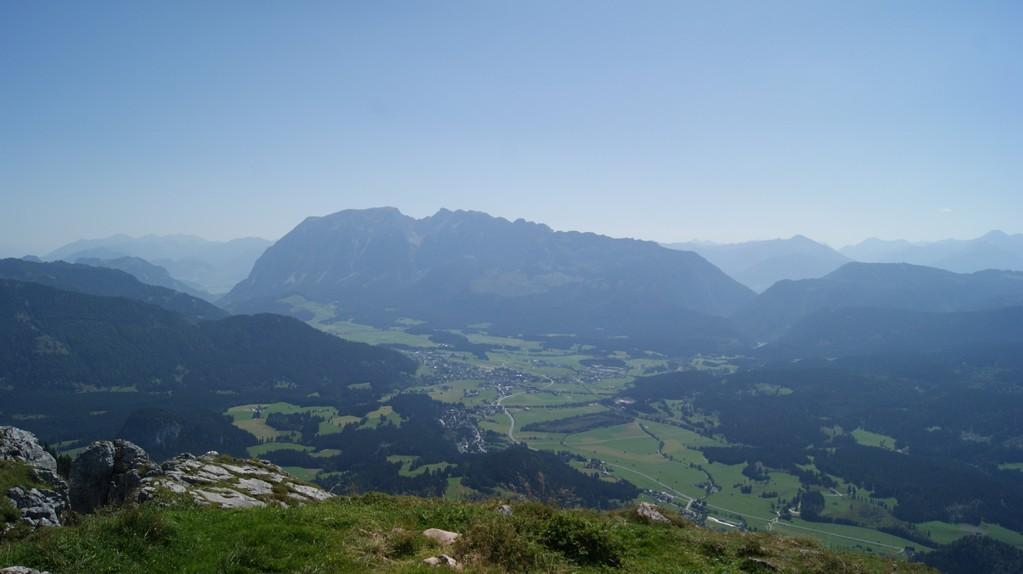 Panoramablick am Gipfel
