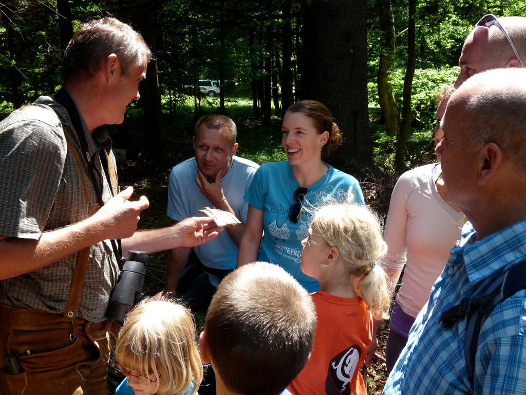 Waldpädagogische Führung