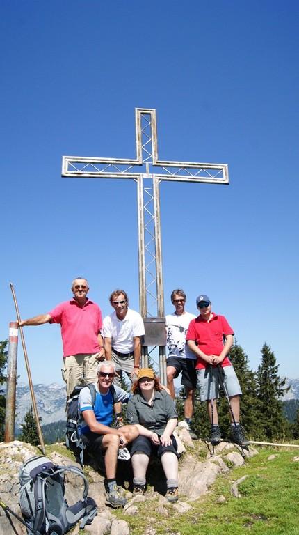 Gipfelkreuz am Kampl