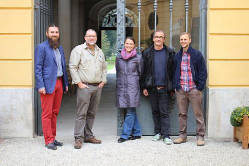 Andreas Haas (ÖBF), Thomas Neumaier (ÖBF), Doris Ossberger (BSVÖ), Rudi Maisriml (ÖZIV), David Bröderbauer (NFI)