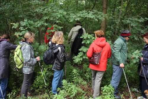 Naturerlebnisführung für blinde und sehbehinderte Personen im Nationalpark Donau-Auen