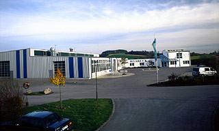 Harbeck Metallbau Werk I mit Büro in der Hauptstr. 58