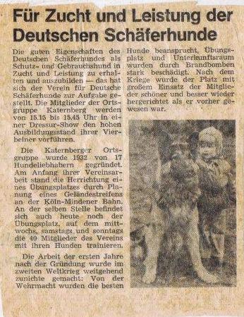 Melli und Bac in der Zeitung