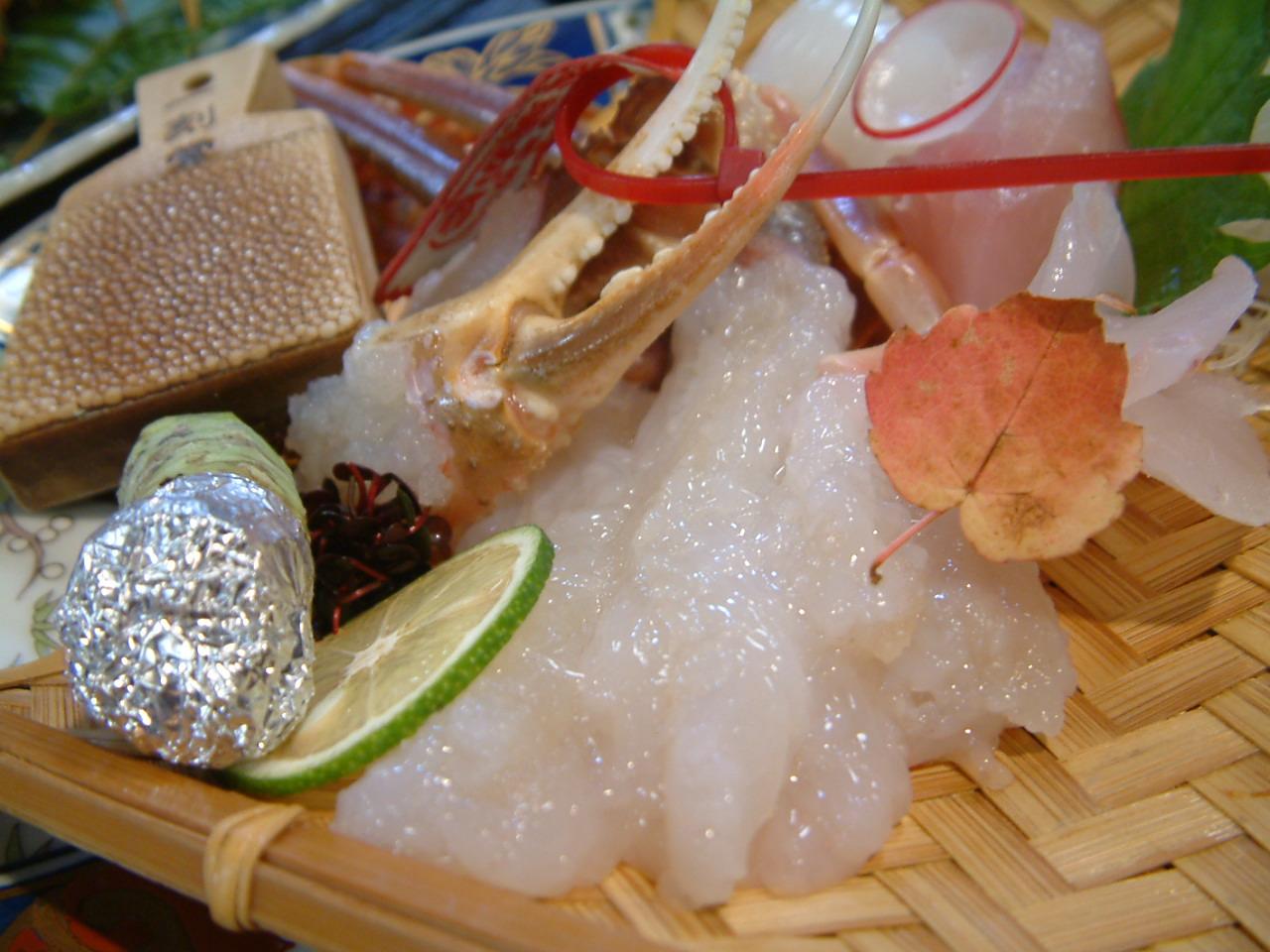 松葉蟹 一例