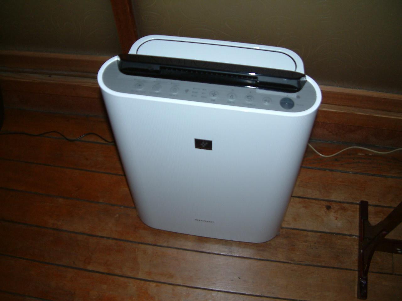 空気清浄機 一例 昔ながらの雰囲気を壊さないでお客様の利便性も高めたい