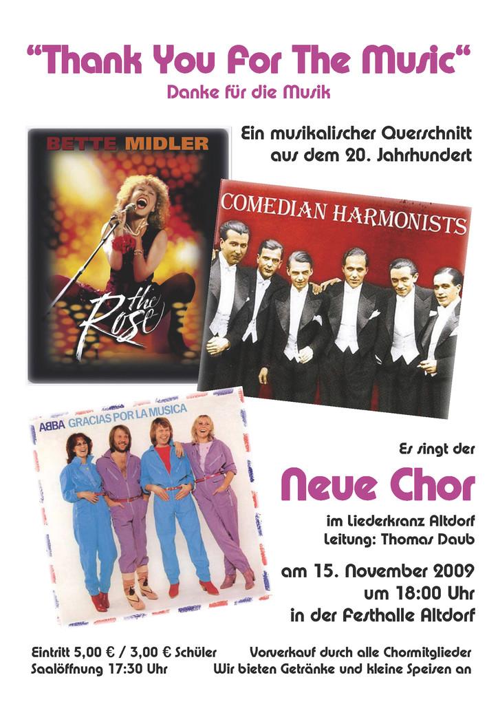 ABBA Konzert 2009
