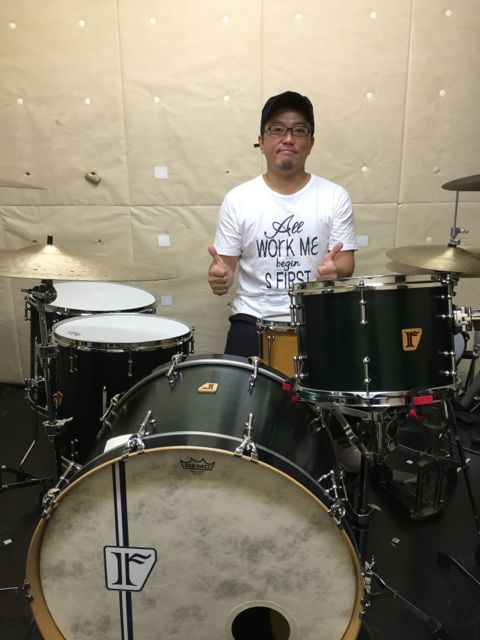 "一ノ瀬 久   Custom .Maple 8ply kit / 24""x16"" , 22""x15"" BD , 10""x7.5"" , 12""x8"" , 13""x9"" TT , 15""x14"" , 16""x15"" , 18""x16"" FT , Custom.Maple 8ply / 15""x5.75"" , Custom. Steel / 14""x6.5"" SD"