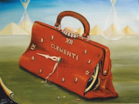 Taschenuhr di Heinz Lastei